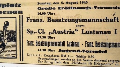 80. Jahrestag - Auflösung der Austria