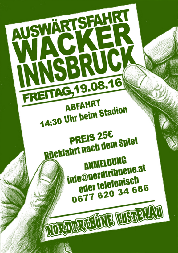 Busfahrt nach Innsbruck, 19. August