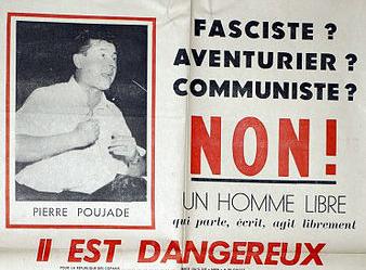 Poujade, il padre del populismo francese
