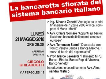 La bancarotta sfiorata del sistema bancario italiano