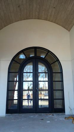 Grunburg Steel Door Exterior View