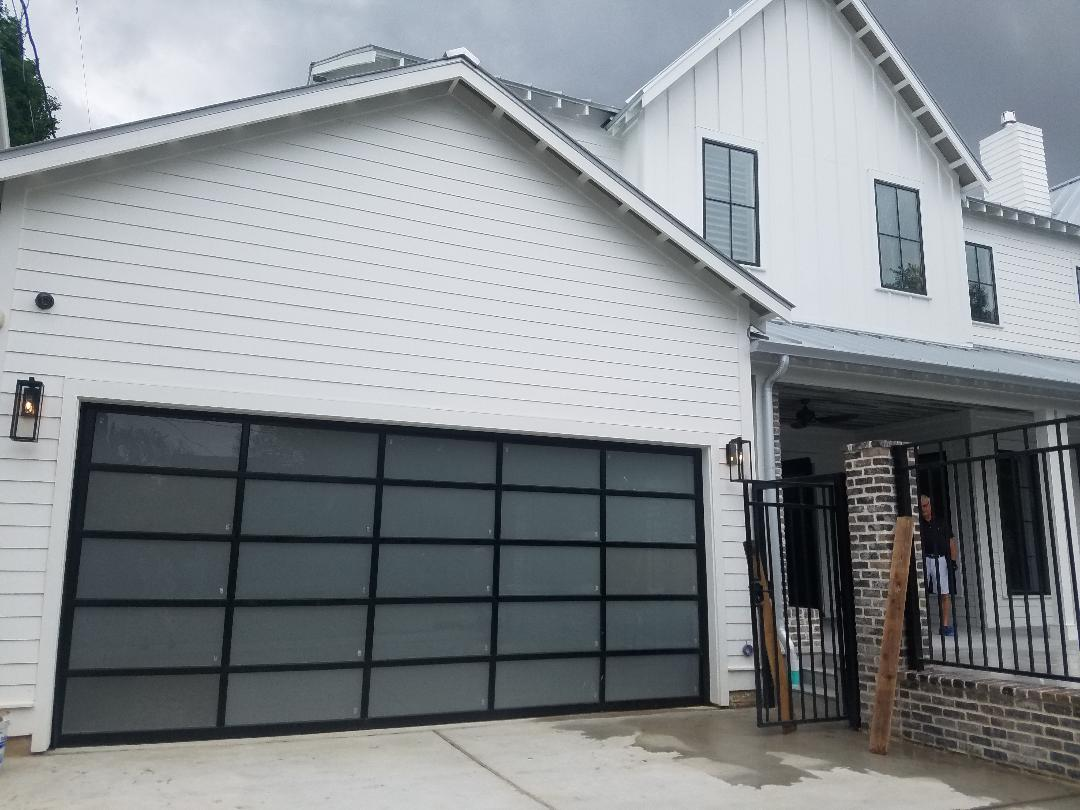 Grunburg Garage Door Alum  Glass