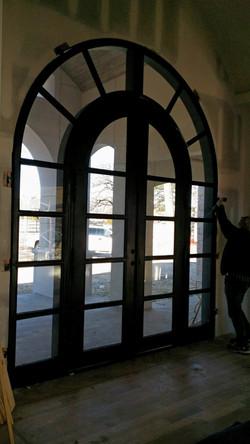 Grunburg Door Interior View