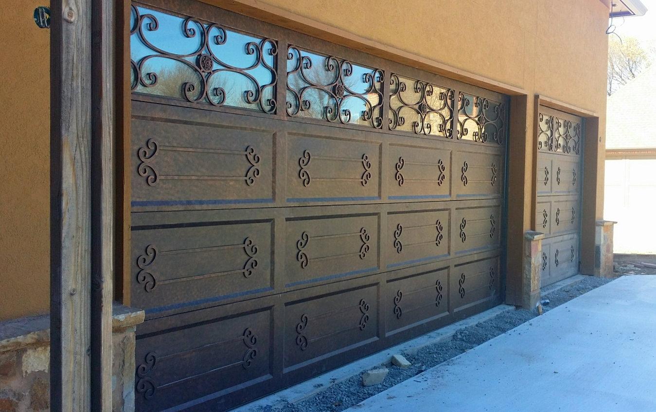 Grunburg windows doors and ironworks iron doors houston projects grunburg garage doors rubansaba