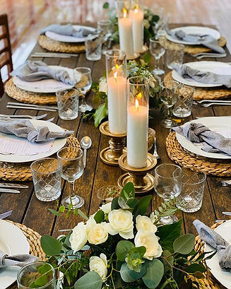Another gorgeous table setting on the Ma