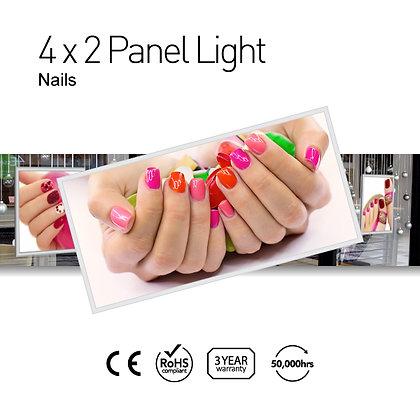 Nails 4' x 2' LED Panel Lights with Printing