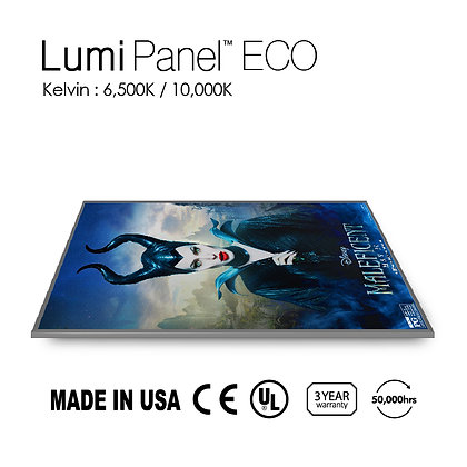 Lumi Panel Eco Slim Single Side Light W/ Film Print