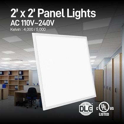 2 x 2 LED Light Fixture - 40 Watt - 2 Lamp Equal - 4000 5000 Kelvin