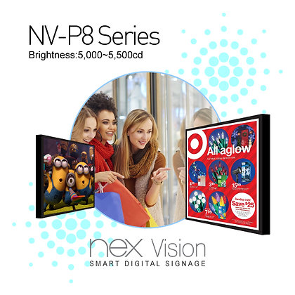 NEX Vision Digital Signage NV-P8 Series