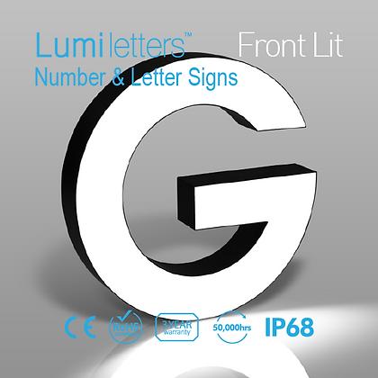 NES Number & Letter Signs Front-Lit