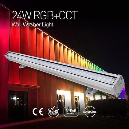 24W RGB+CCT LED Wall Washer Light