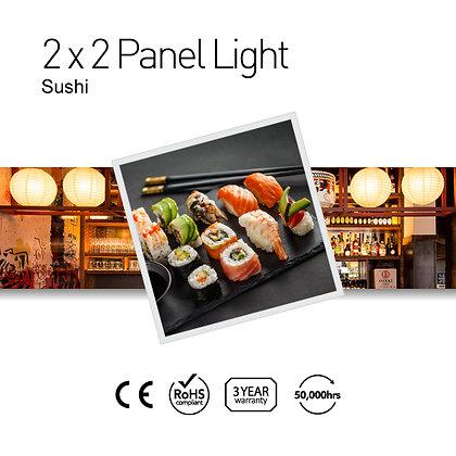Sushi 2' x 2' LED Panel Lights with Printing