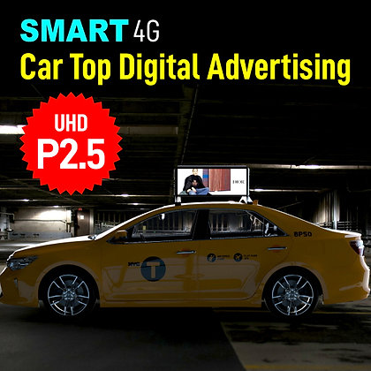 P2.5 Car Top Digital Advertising(Double Side)