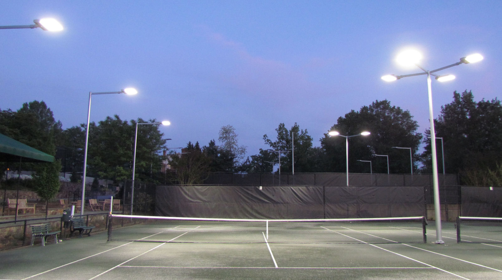 outdoor tennis court-2
