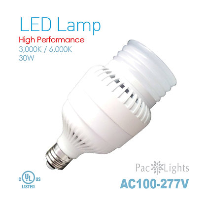 Pac Light LED Lamp E26 AC100~277V 30W 40W 50W