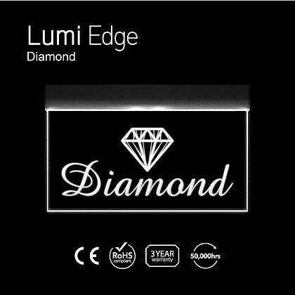Diamond Lumi Edge Sign