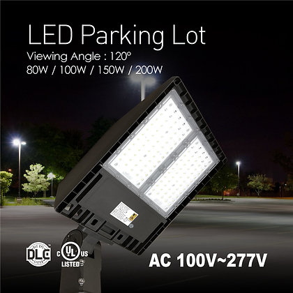LED Parking Lot Fixture - 150 Watt - 400 Watt MH Replacement - 4000 Kelvin
