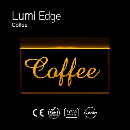 Coffee Lumi Edge Sign