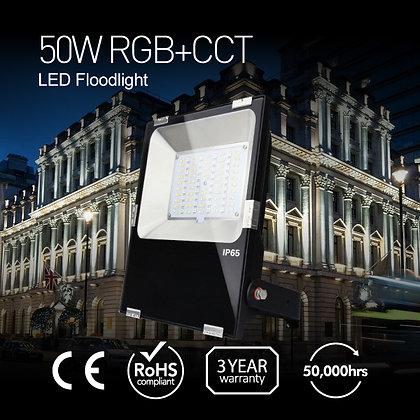 50W RGB+CCT LED Floodlight
