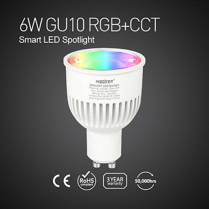 FUT106-6W GU10 RGB+CCT Smart LED Spotlight