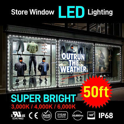 Store Window LED Channel Module for Outdoor 50ft