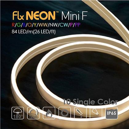 Flex Neon LED 24V Mini Flat Single 10 Color 9w/m(2.8w/ft)