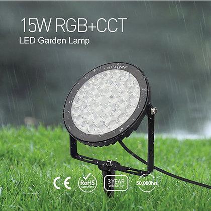15W RGB+CCT LED Garden Light