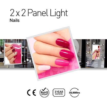 Nails 2' x 2' LED Panel Lights with Printing