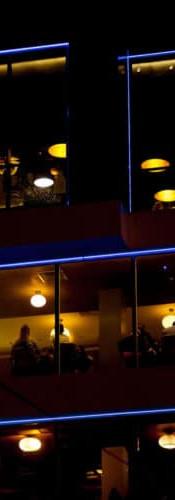 Restaurant Exterior Lighting