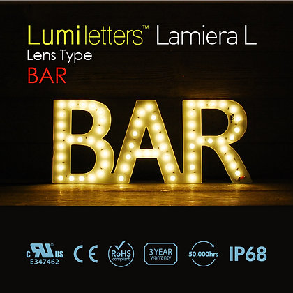 "Lumi Letters Lamiera Lens Type ""Bar""-1"