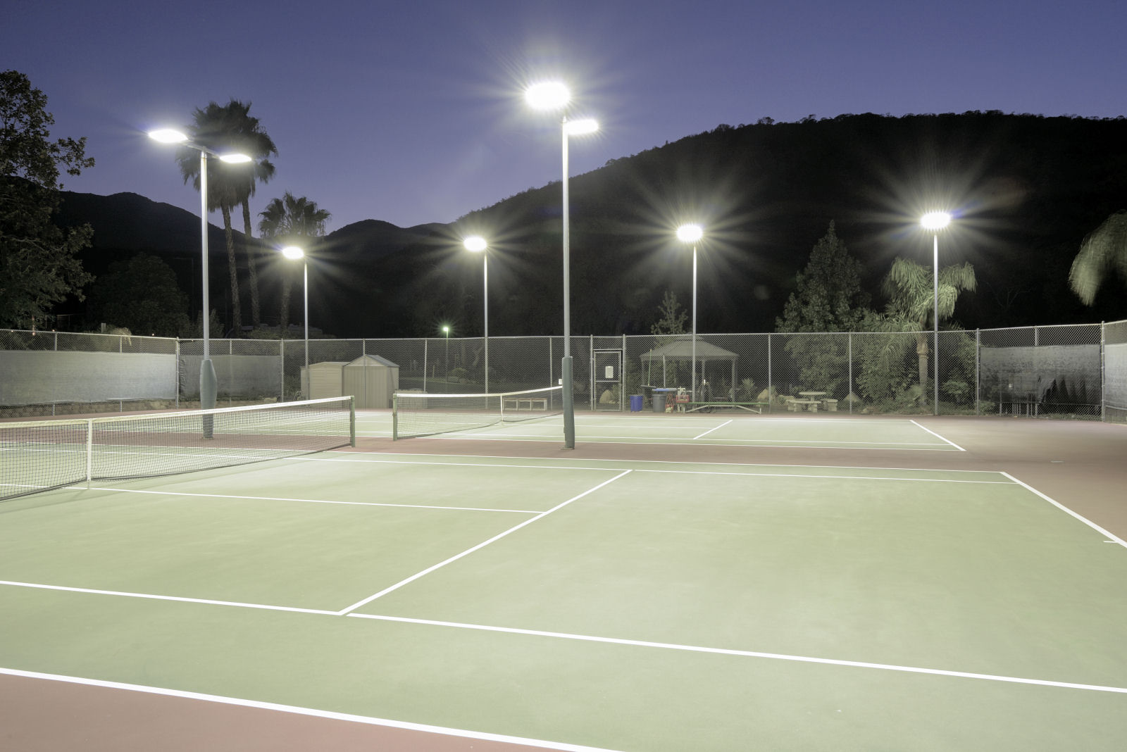 outdoor tennis court-3
