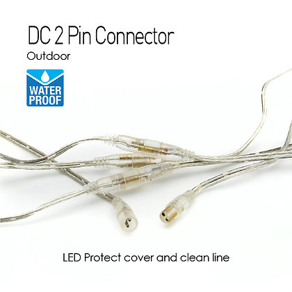 Outdoor DC 2P Wire Connector x 5 set