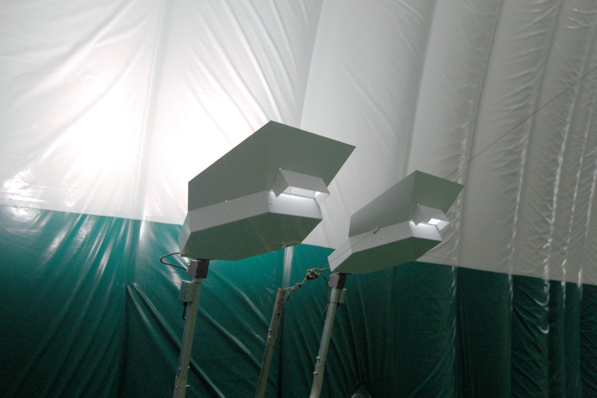 Indirect Indoor Tennis Lighting Fixtures