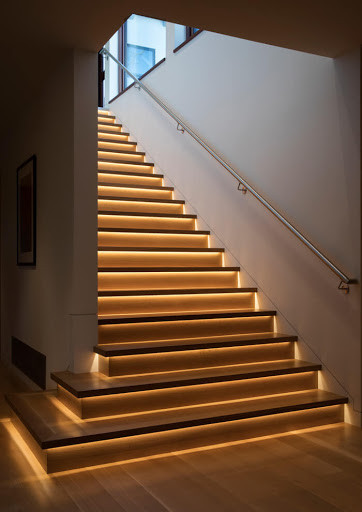 Indoor Stairs Lighting