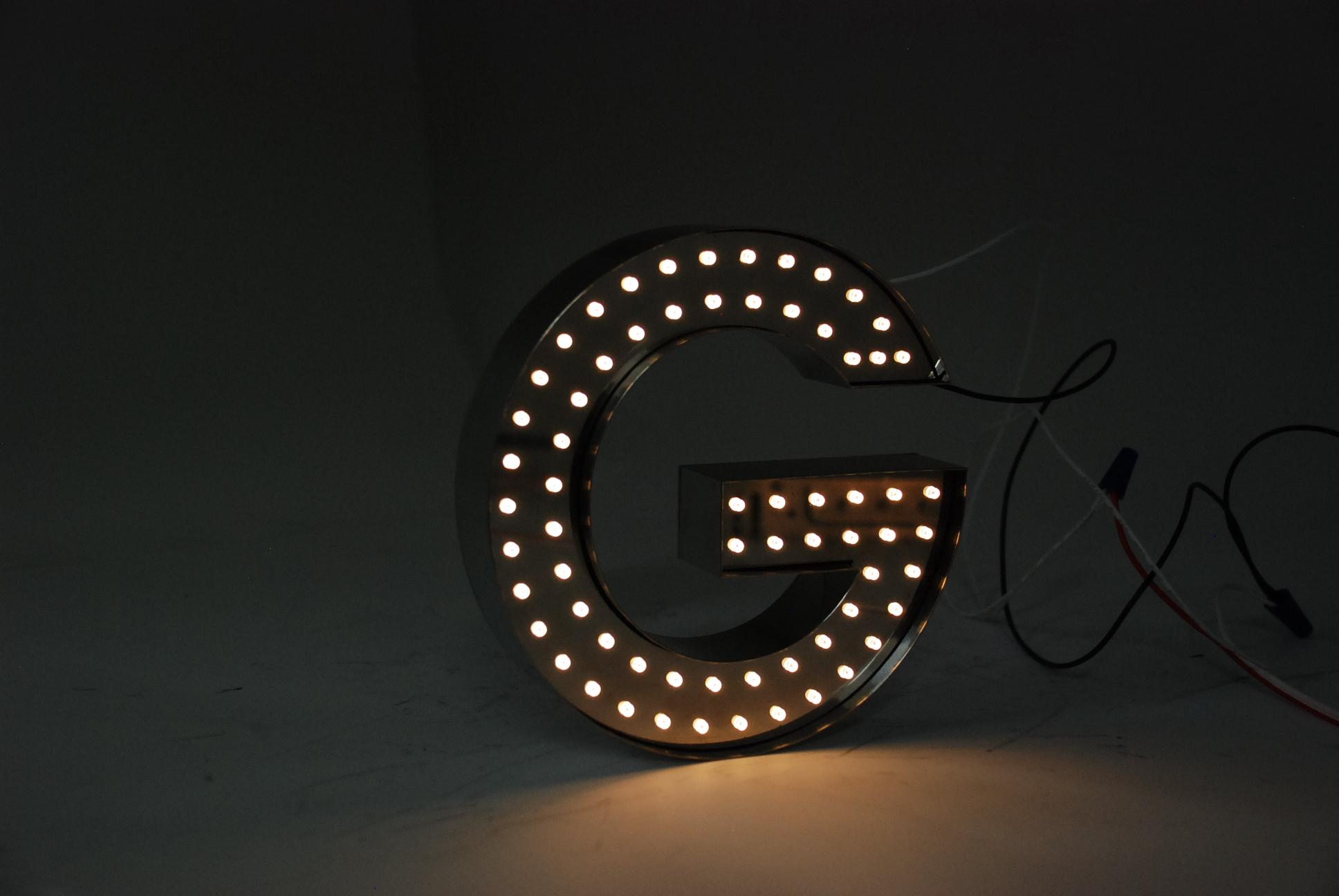 Lumi Letter Lamp