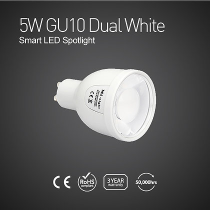 FUT011-5W GU10 Dual White Smart LED Spotlight