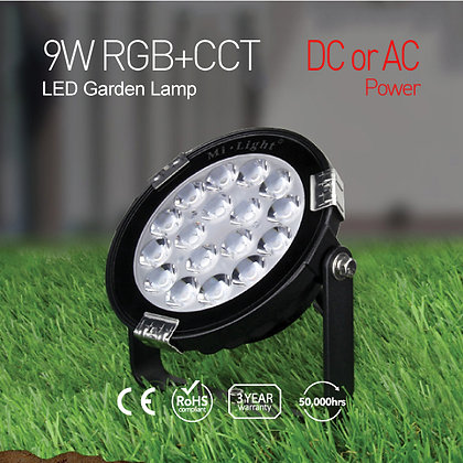 9W RGB+CCT LED Garden Light