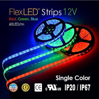 Flex LED Color Strips 72W / 16.4ft x 1 roll
