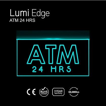ATM 24 HRS Lumi Edge Sign