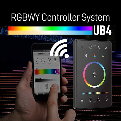 UB4 RGBWY Controller System Intelligent Touch Panel