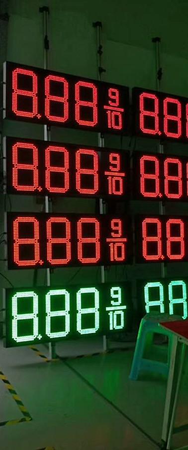 Gas station price