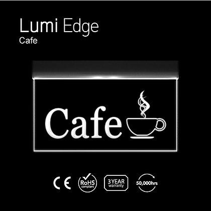 Cafe Lumi Edge Sign
