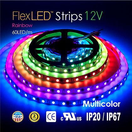 Flex Led Strips Rainbow Fullcolor 72W / 16.4ft x 1 roll