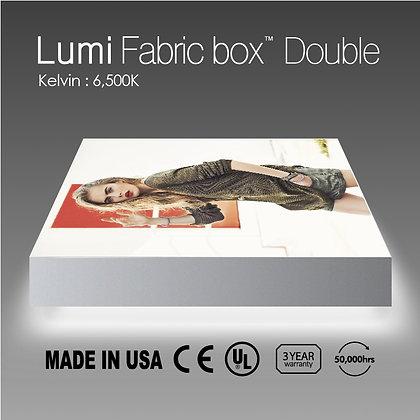 Lumi Fabric Box Double Side Light W/ Print