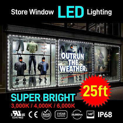 Store Window LED Channel Module for Outdoor 25ft