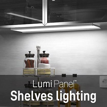 Lumi Panel Shelves lighting
