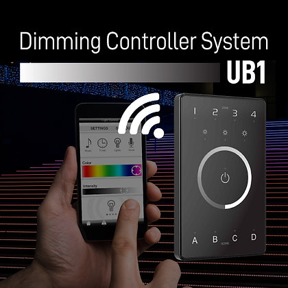 UB1 Dimming Controller System Intelligent Touch Panel