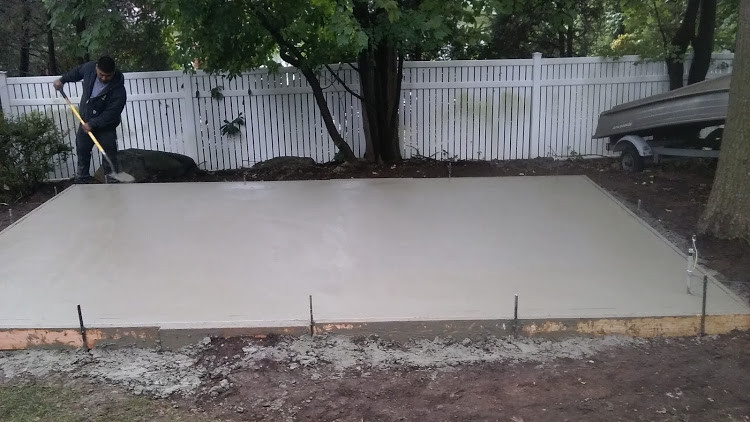 Concrete Work for Shed