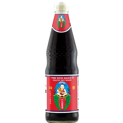 HBB thin soy sauce red label