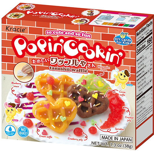 Tanoshii Waffle- Popin' Cookin'